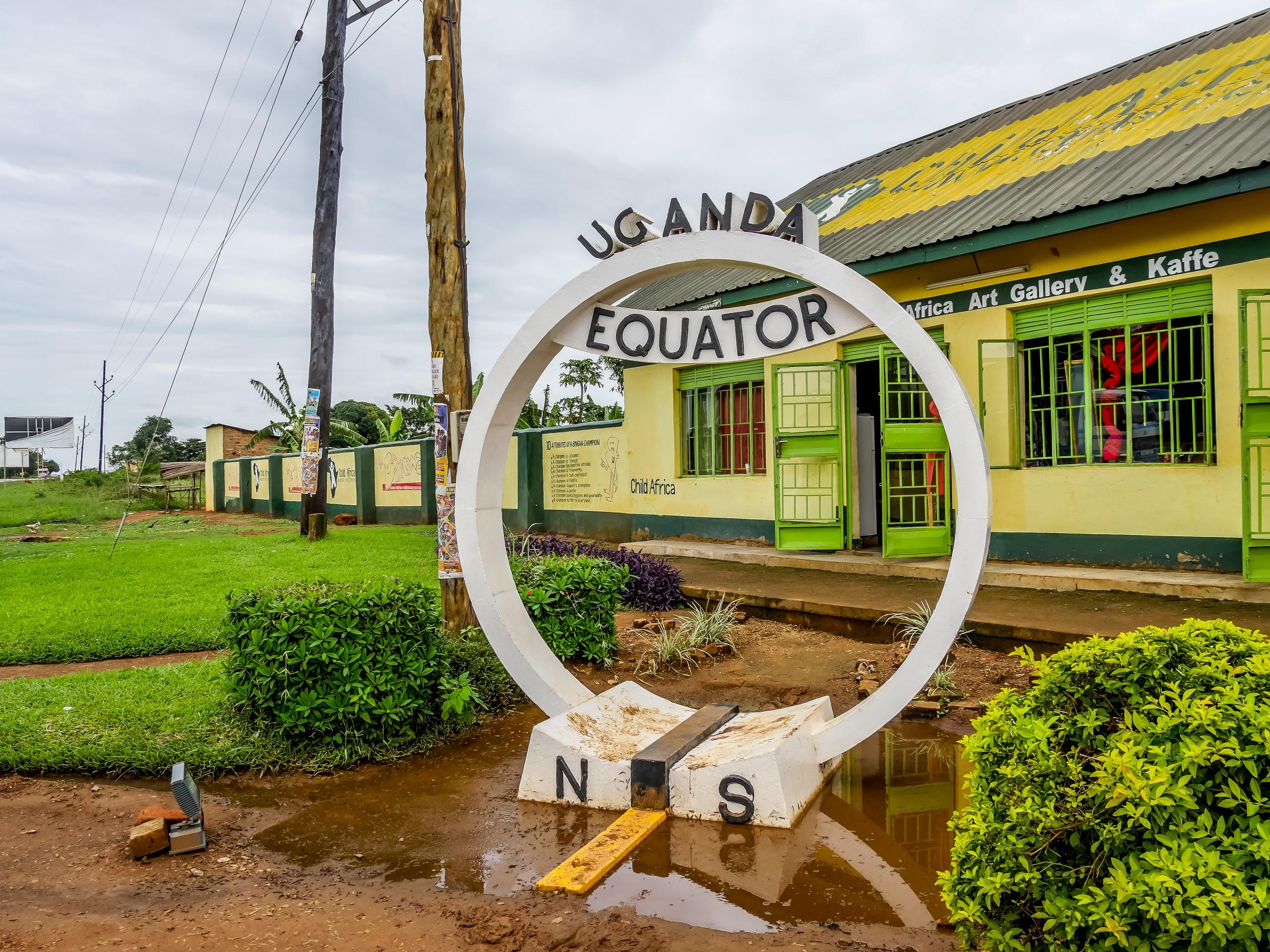 l'Equateur en Ouganda