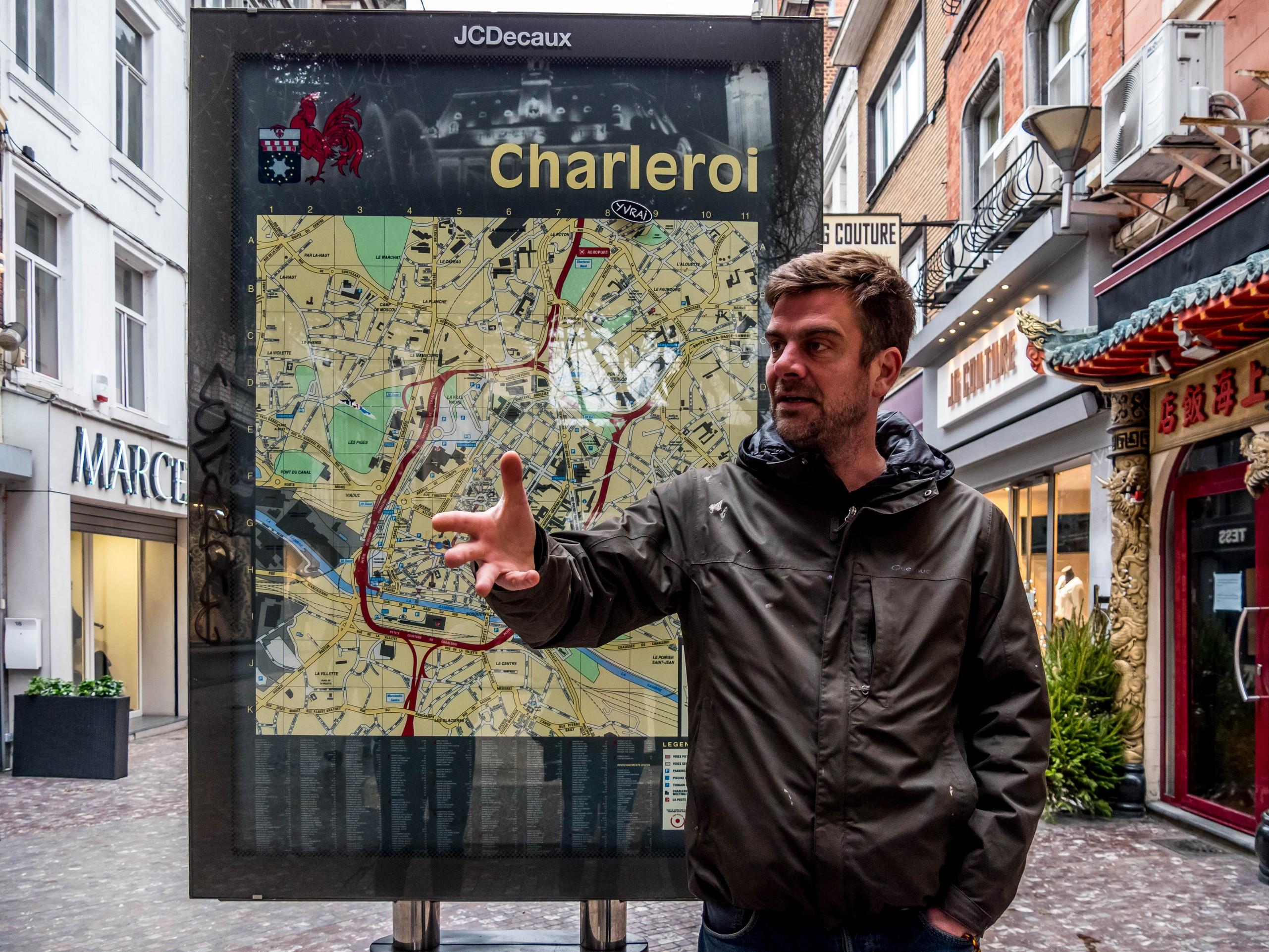 Safari Urbain Charleroi : Nicolas Dussart
