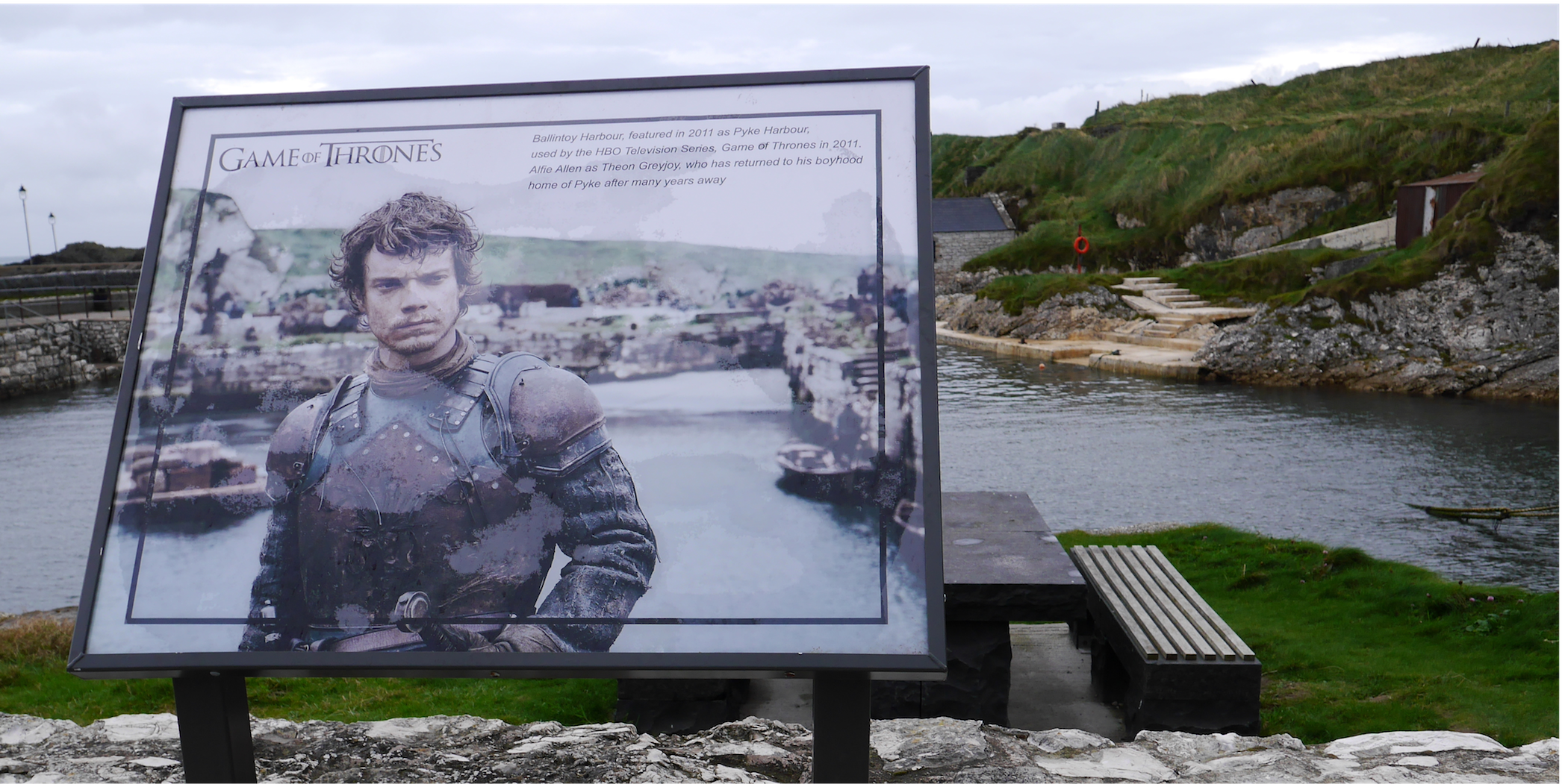 "Ballintoy, alias ""Lordsport"", lieu de tournage de Game of Thrones"