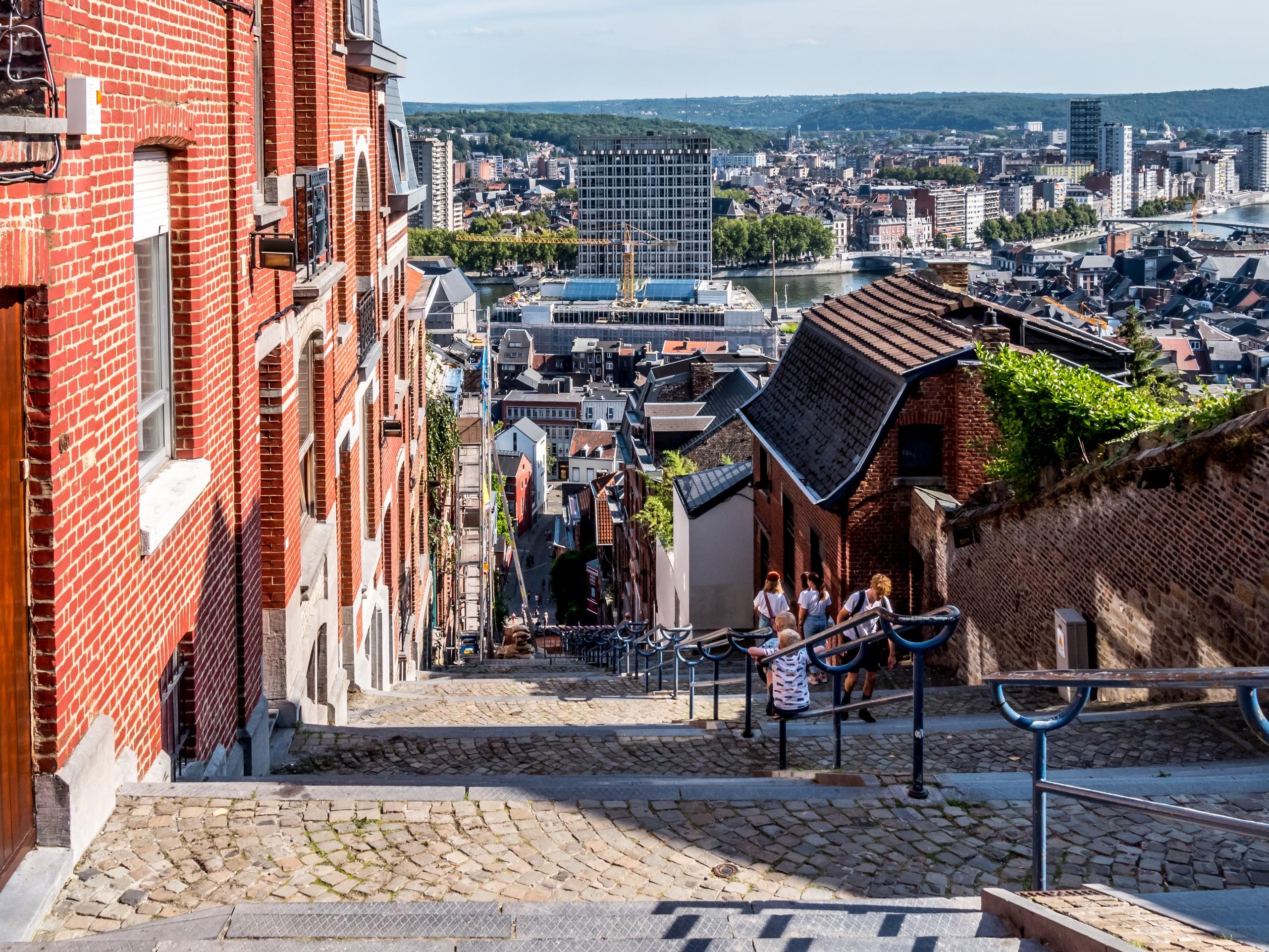 Escaliers de la Montagne de Bueren