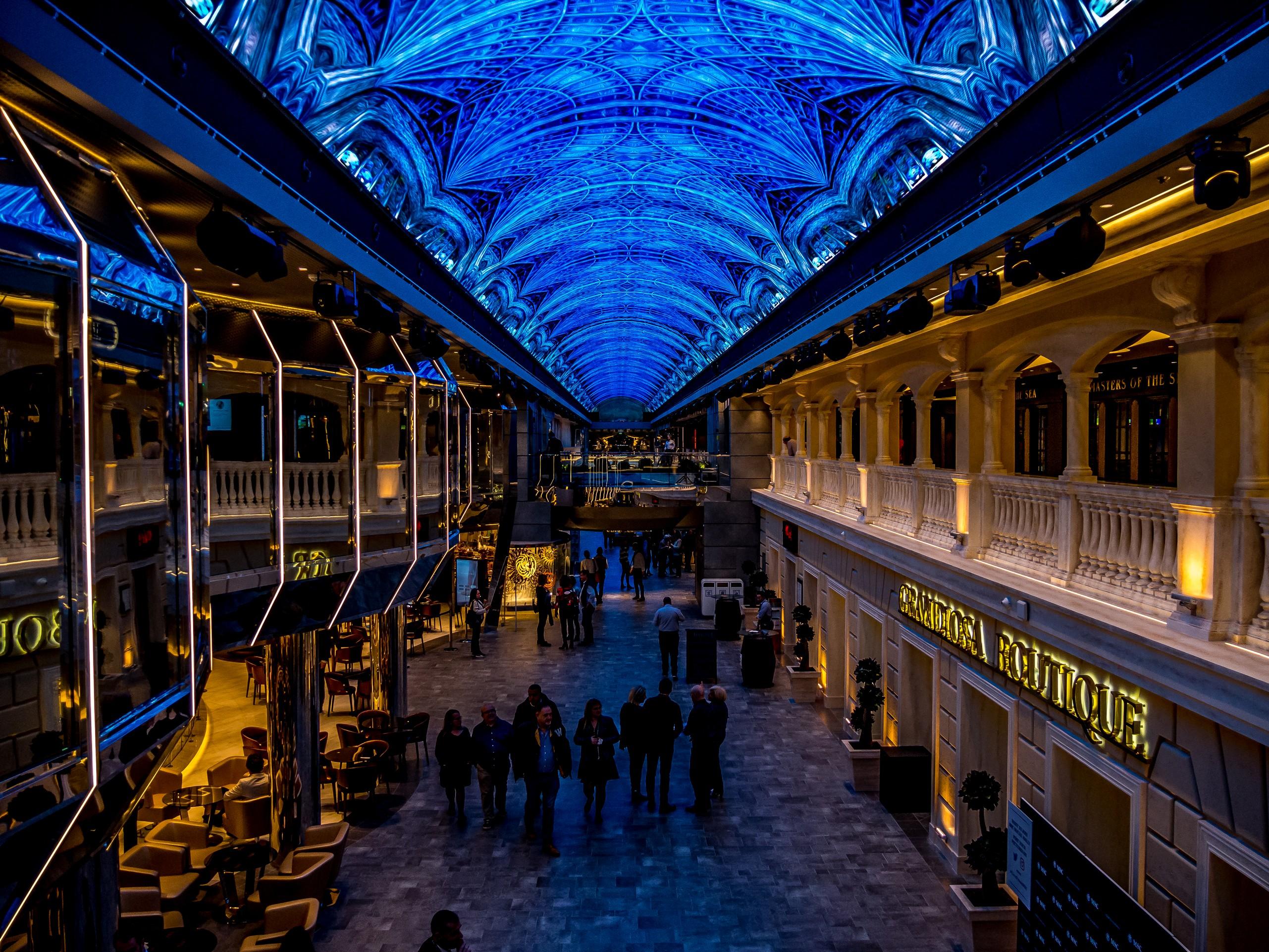La Galerie, MSC Grandiosa