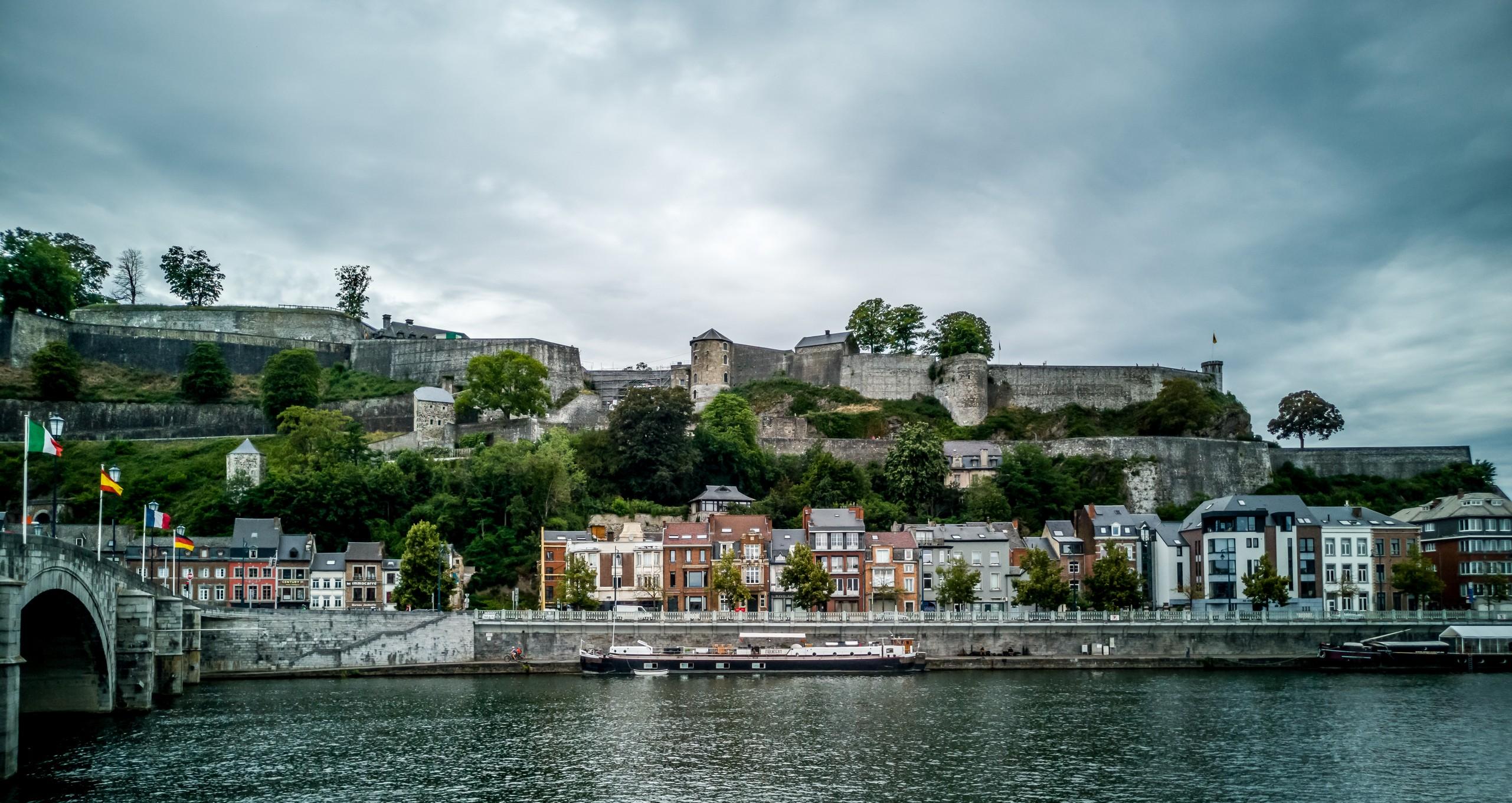 La Meuse et la Citadelle de Namur